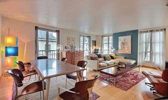 Rent Apartment 2 Bedrooms 120m² rue Beranger, 3 Paris