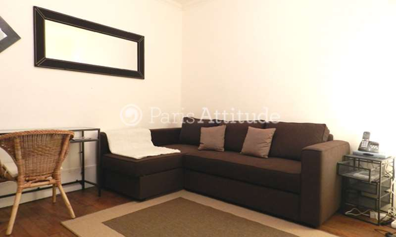 Rent Apartment Studio 20m² avenue de Clichy, 17 Paris