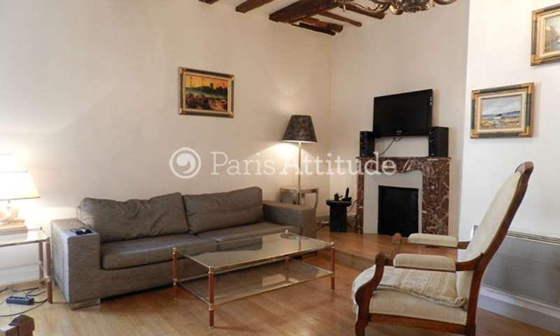 Location Appartement 2 Chambres 71m² rue Saint Louis en l Île, 75004 Paris