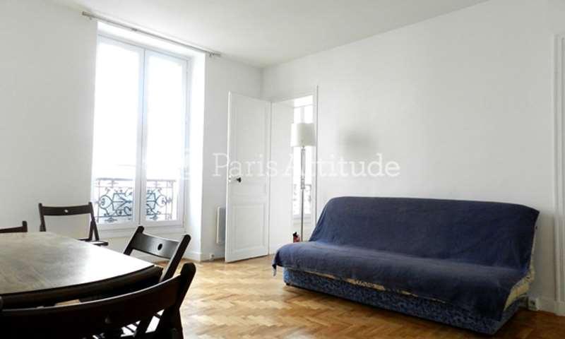 Rent Apartment 1 Bedroom 40m² rue Keller, 75011 Paris