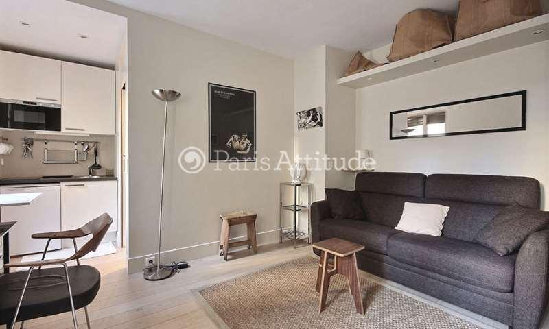 Rent Apartment Studio 21m² rue des Chantiers, 75005 Paris