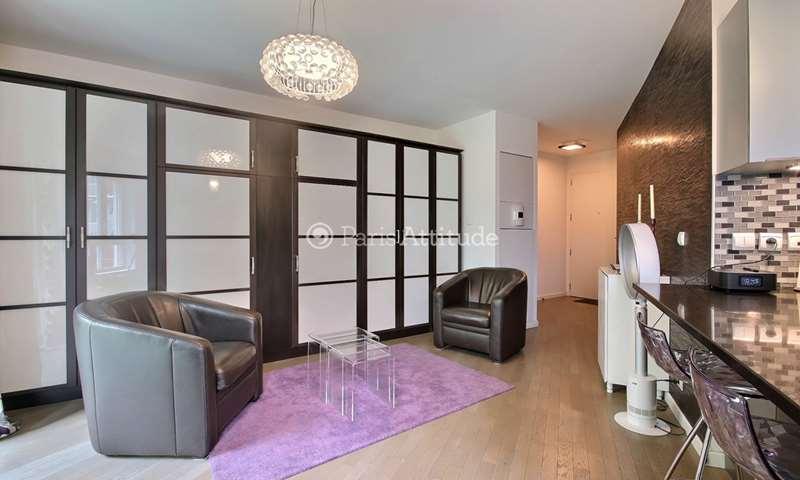 Rent Apartment Studio 33m² rue Cardinet, 17 Paris