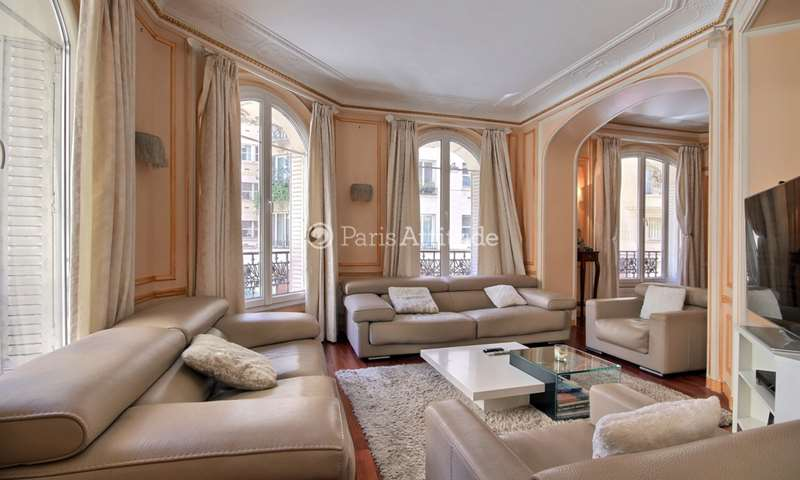 Rent Apartment 3 Bedrooms 135m² rue Raynouard, 16 Paris