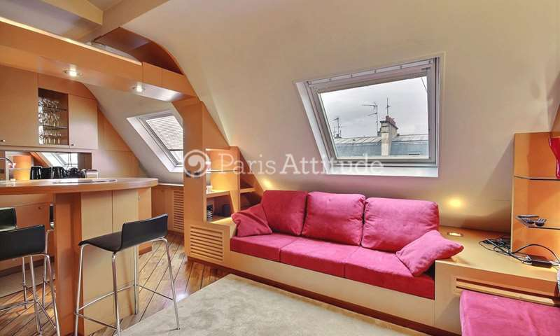 Rent Apartment 1 Bedroom 45m² rue edouard Detaille, 75017 Paris