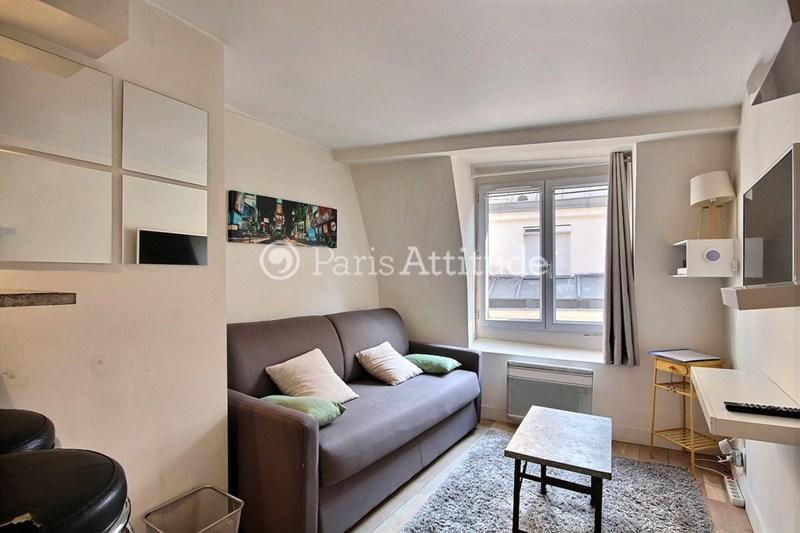 Location Appartement Studio 17m² rue Geoffroy L Angevin, 75004 Paris