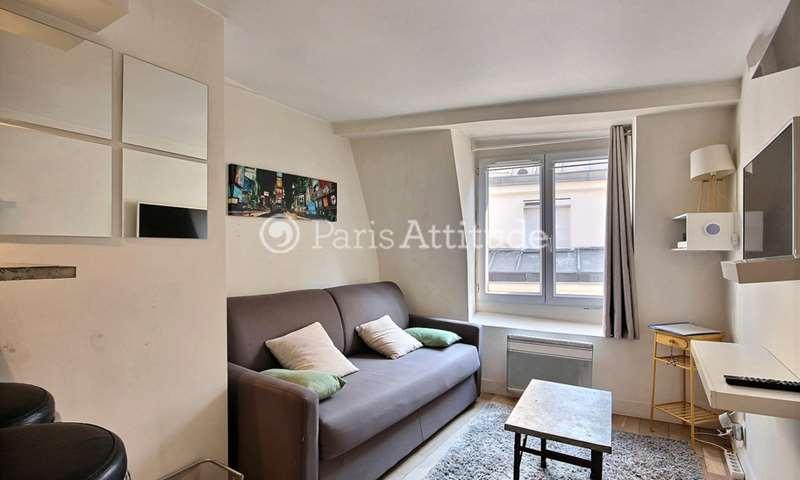 Rent Apartment Studio 17m² rue Geoffroy L Angevin, 4 Paris