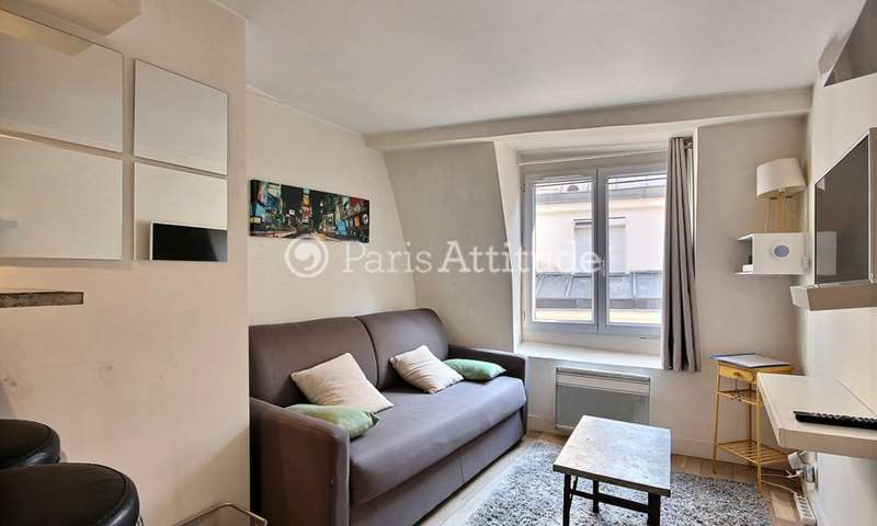 Rent Apartment Studio 17m² rue Geoffroy L Angevin, 75004 Paris