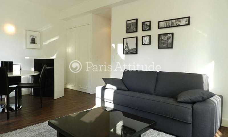 Rent Apartment 1 Bedroom 35m² rue Joseph Sansboeuf, 75008 Paris
