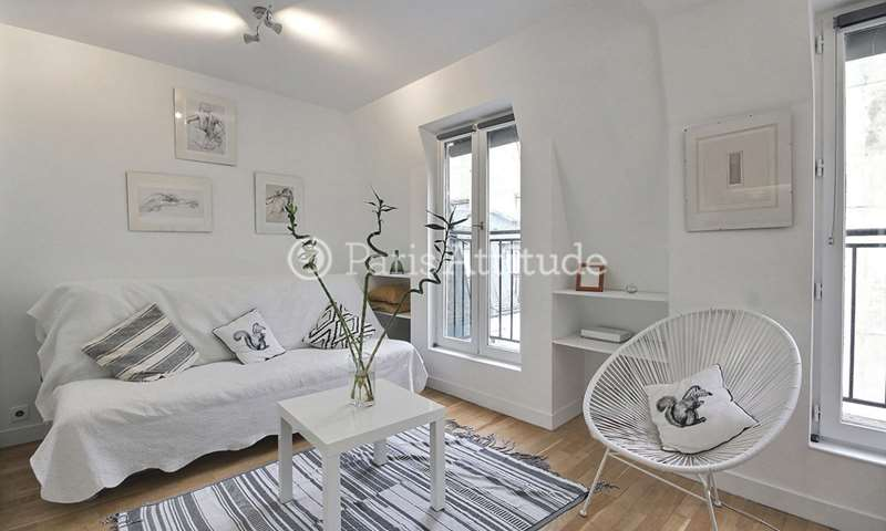 Rent Apartment Studio 21m² avenue de Wagram, 17 Paris