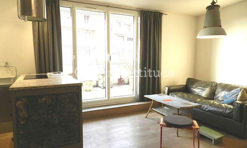 Rent Apartment 1 Bedroom 32m² rue du Point du Jour, 92100 Boulogne Billancourt