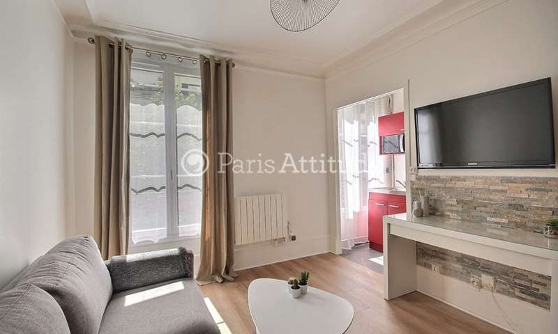 Rent Apartment Studio 16m² Villa Compoint, 17 Paris