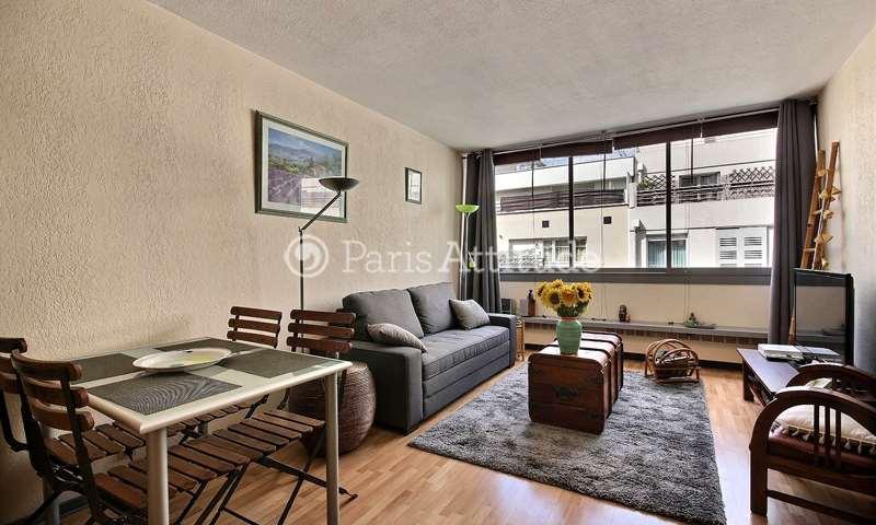 Location Appartement Studio 35m² rue Sainte Lucie, 15 Paris