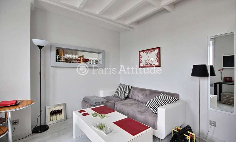 Rent Duplex 1 Bedroom 30m² avenue Niel, 17 Paris