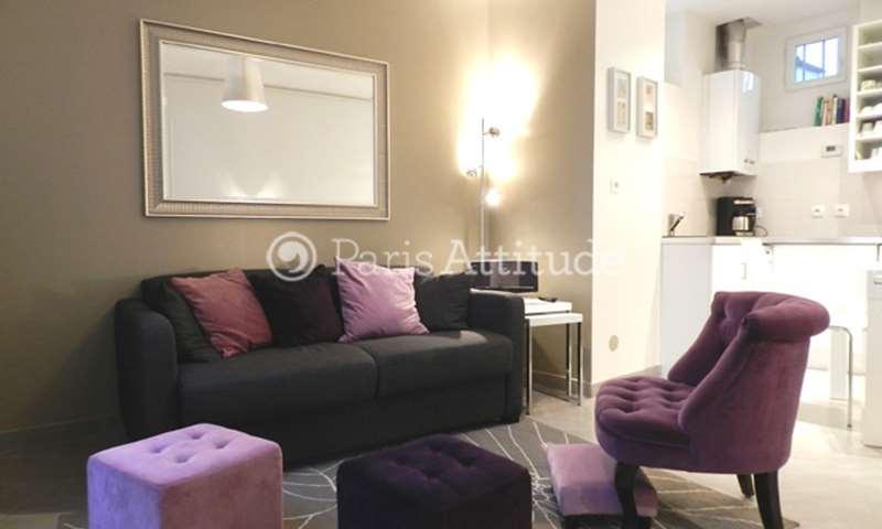 Rent Apartment 1 Bedroom 30m² rue des Apennins, 17 Paris
