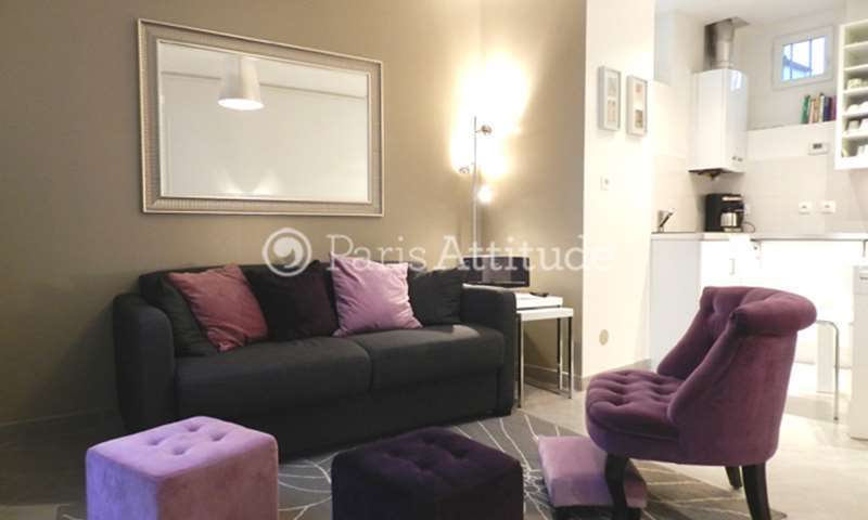Rent Apartment 1 Bedroom 30m² rue des Apennins, 17 Paris
