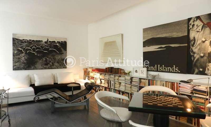 Aluguel Apartamento 1 quarto 50m² rue Ferou, 6 Paris