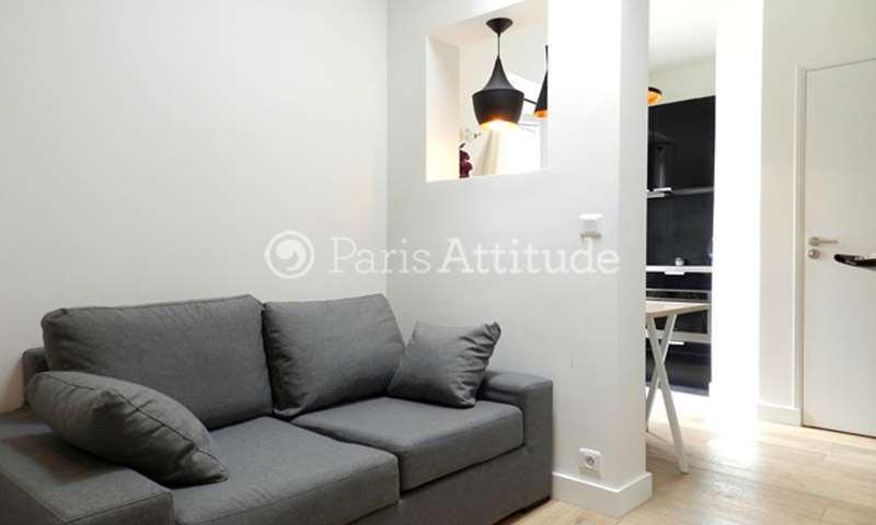 Rent Apartment Studio 20m² boulevard Saint Germain, 75006 Paris