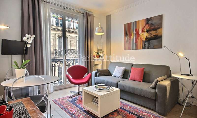 Location Appartement Studio 20m² boulevard de la Madeleine, 9 Paris