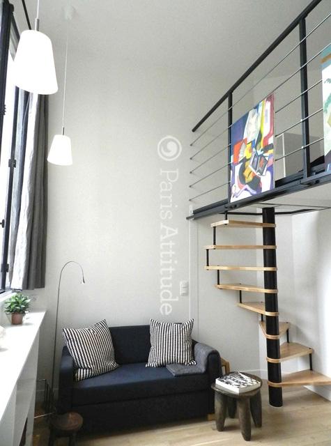 rent loft in paris 75014 25m alesia ref 9455. Black Bedroom Furniture Sets. Home Design Ideas