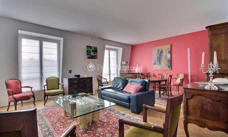 Rent Apartment 1 Bedroom 75m² rue de Monttessuy, 7 Paris