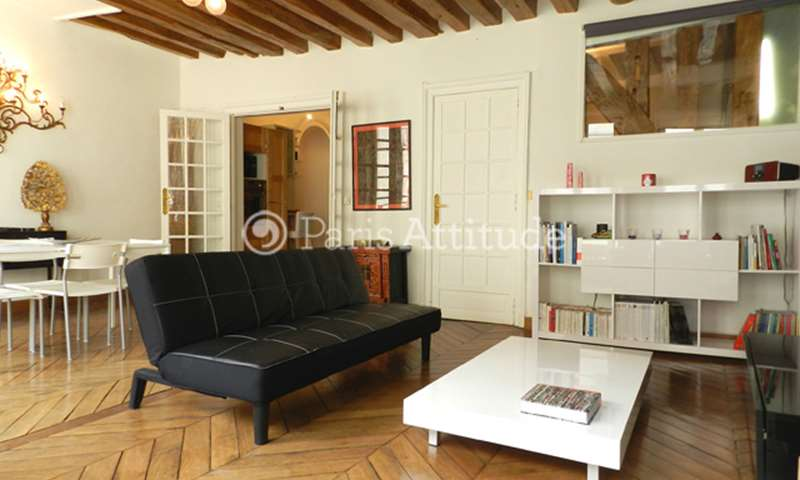 Rent Apartment 2 Bedroom 65m² rue Montorgueil, 75001 Paris