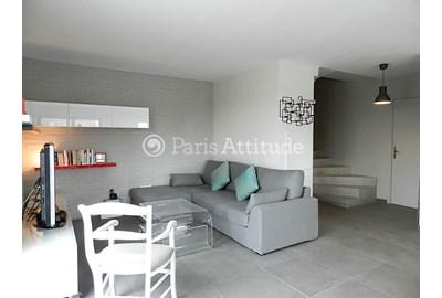 Louer un duplex paris 75019 85m la villette ref 9477 for Porte de la villette salon gastronomique
