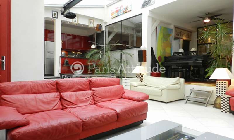 Rent Loft 2 Bedrooms 130m² rue du Delta, 9 Paris