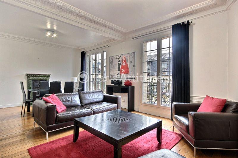 Rent furnished Apartment 2 Bedrooms 82m² rue de l Aqueduc, 75010 Paris