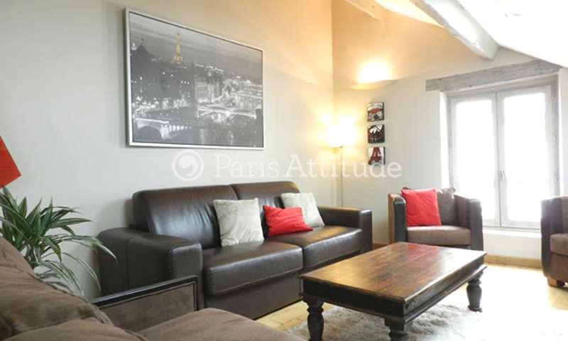 Aluguel Apartamento 1 quarto 40m² rue du Chevalier de la Barre, 75018 Paris