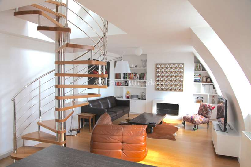 Rent furnished Duplex 2 Bedrooms 77m² avenue Achille Peretti, 92200 Neuilly sur Seine