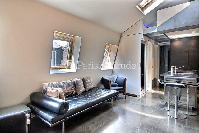Louer Appartement meublé Alcove Studio 25m² rue Française, 75002 Paris