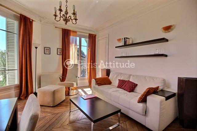 Rent furnished Apartment 2 Bedrooms 55m² rue Ordener, 75018 Paris