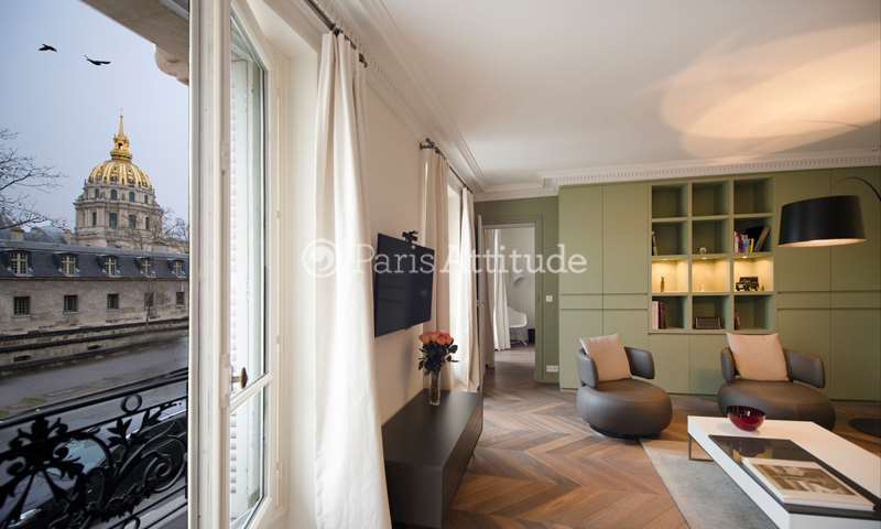 Rent Apartment 2 Bedroom 91m² boulevard de La Tour Maubourg, 75007 Paris