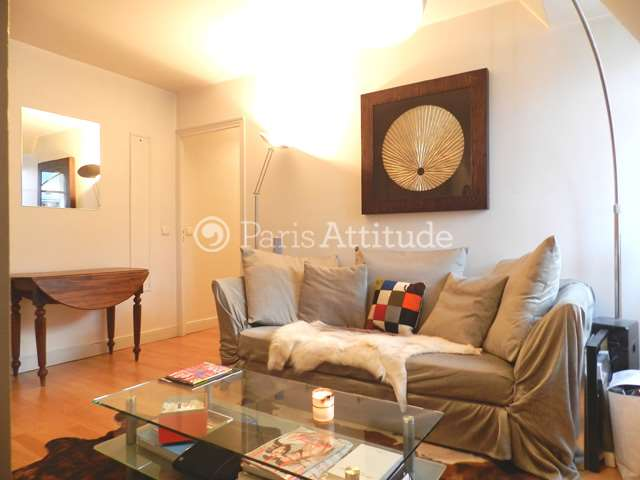 Rent furnished Apartment 1 Bedroom 50m² rue de Courcelles, 75017 Paris