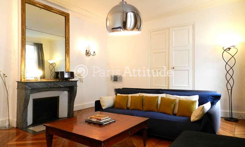 Rent Apartment 3 Bedrooms 145m² rue Jacob, 6 Paris