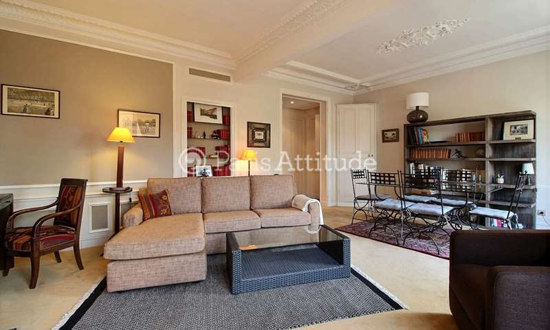 Rent Apartment 1 Bedroom 56m² boulevard Murat, 75016 Paris