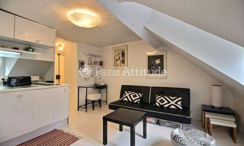 Rent Apartment 1 Bedroom 24m² rue des Francs Bourgeois, 75003 Paris