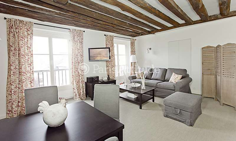 Rent Apartment 1 Bedroom 50m² rue Saint Paul, 4 Paris