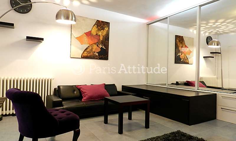 Rent Apartment Studio 24m² rue Saint Maur, 10 Paris