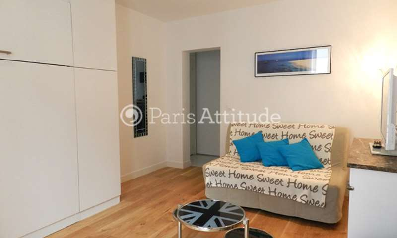 Rent Apartment Studio 27m² rue de l Abbe Groult, 75015 Paris