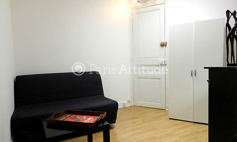 Rent Apartment Studio 16m² rue Gustave Zede, 75016 Paris