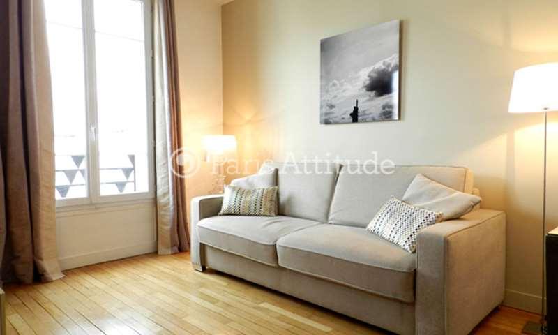 Location Appartement Studio 25m² avenue Hoche, 75008 Paris