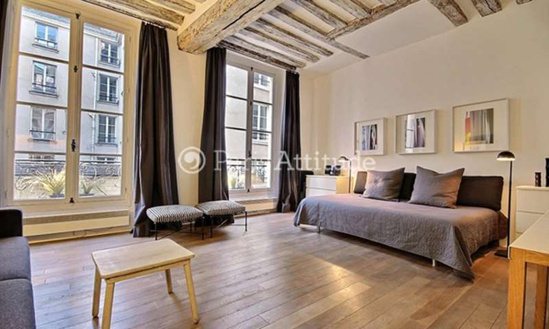 Rent Apartment Studio 36m² rue Ferdinand Duval, 75004 Paris