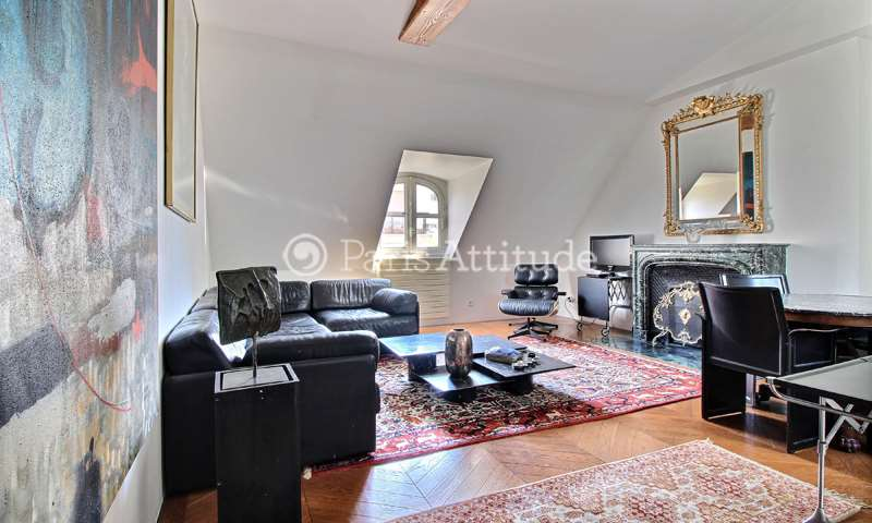 Rent Apartment 2 Bedroom 82m² rue Mesnil, 75016 Paris