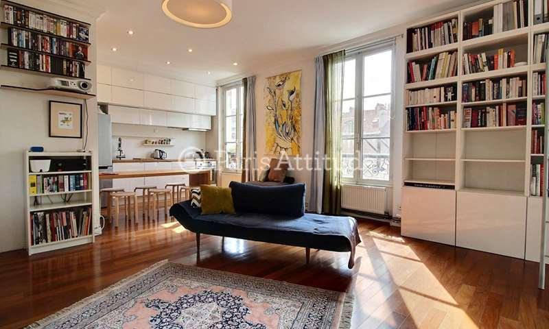 Rent Apartment Studio 52m² rue du Faubourg Du Temple, 10 Paris