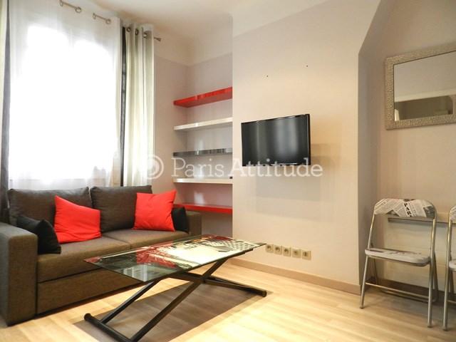 Rent Apartment Studio 26m² rue de l etoile, 75017 Paris