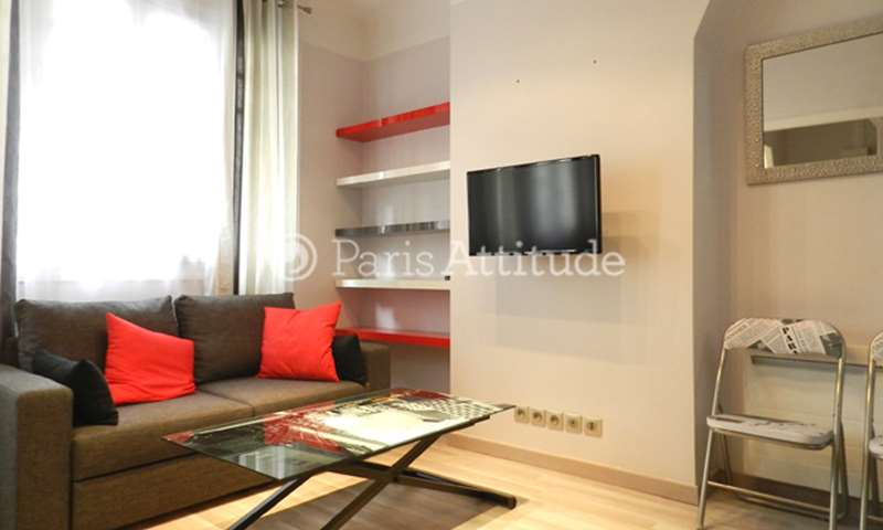 Rent Apartment Studio 26m² rue de l etoile, 17 Paris