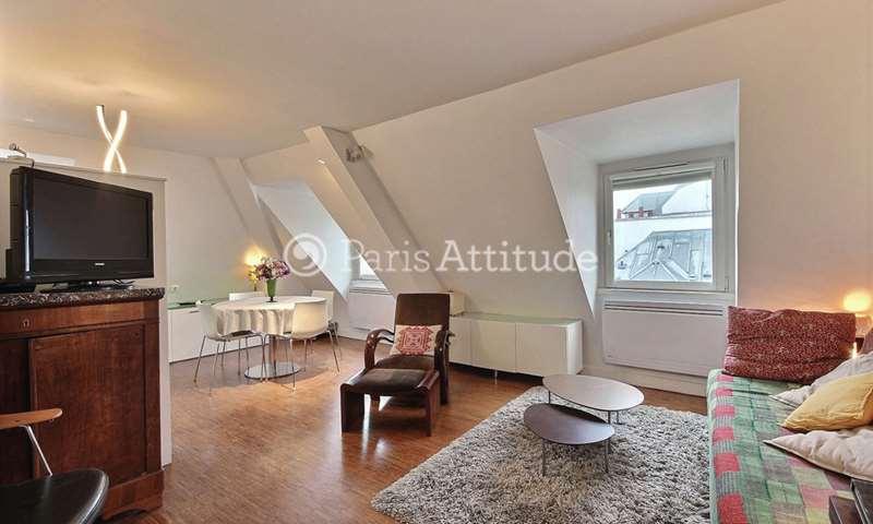 Rent Apartment 1 Bedroom 37m² rue Pierre Lescot, 1 Paris