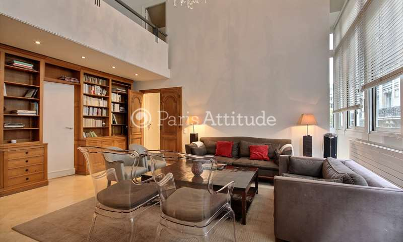 Rent Triplex 4 Bedrooms 165m² rue Laugier, 17 Paris
