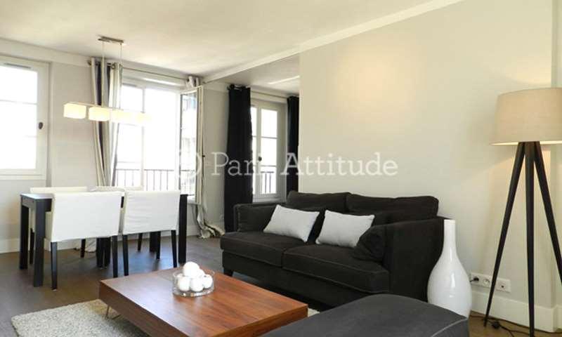 Rent Apartment 2 Bedroom 50m² rue des Guillemites, 75004 Paris